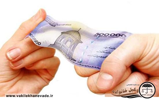 عدم پرداخت نفقه فرزند مشترک از سمت زوج